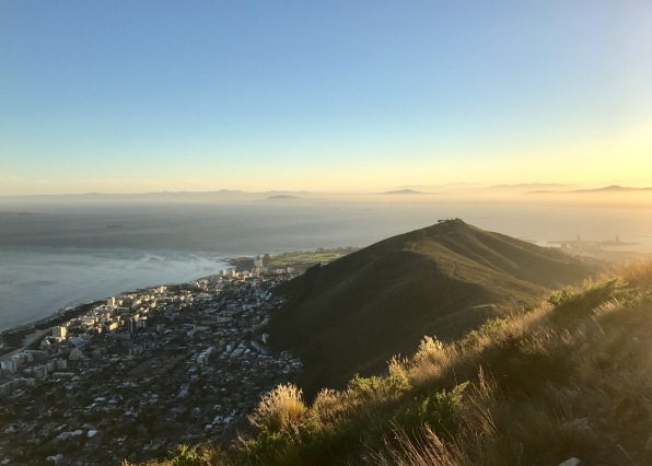 Early morning view across the Atlantic from Lion's Head.